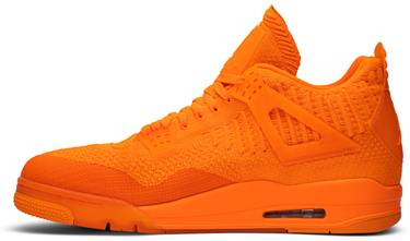 detailed look 98c2a 46a4b Air Jordan 4 Flyknit 'Total Orange'