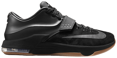 4fda5b6ac316 KD 7 Ext Suede QS  Black  - Nike - 717593 001