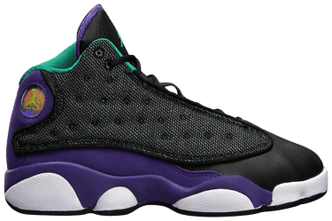 best loved d0c72 a51a3 Air Jordan 13 GS  Black Teal Violet