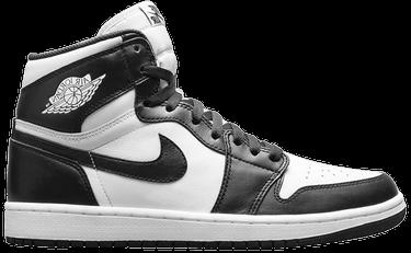 Air Jordan 1 Retro High OG  Black White  - Air Jordan - 555088 010 ... a090843fa
