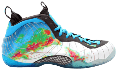 dd6fcbcbbeb15 Air Foamposite One PRM  Weatherman  - Nike - 575420 100