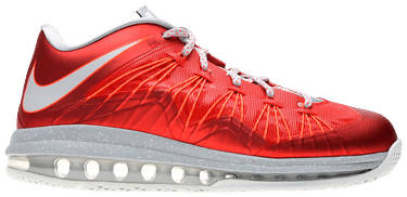 on sale 18a7d 91e2f Air Max LeBron 10 Low  University Red