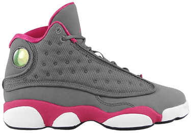 54948ff3c66 Air Jordan 13 Retro GS 'Grey Fusion Pink' - Air Jordan - 439358 029 ...