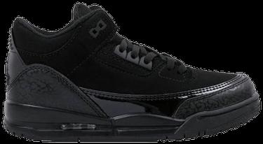 9c43a03041a Air Jordan 3 Retro 'Black Cat' - Air Jordan - 136064 002 | GOAT