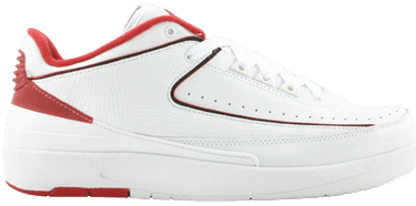 0b92fe1b55af Air Jordan 2 Retro Low  White Varsity Red  - Air Jordan - 309837 101 ...