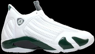 best website 225f5 66304 Air Jordan 14 Retro 'White Forest Green' 2005 - Air Jordan ...