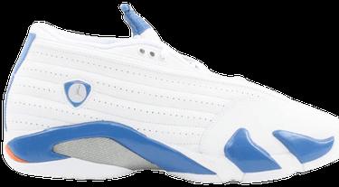 cc42f09e0c9 Air Jordan 14 Retro Low 'White Pacific Blue' - Air Jordan - 312567 ...