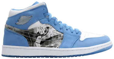 san francisco 5a84a 0ec93 Air Jordan 1 Retro Alpha  White University Blue