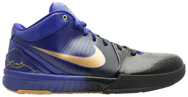 21bde88711fb Zoom Kobe 4  Lakers Away  - Nike - 344335 073