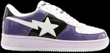 f4395a92a50fe Bapesta FS-001 Low 'Purple White' 2005 - A Bathing Ape - 559 | GOAT