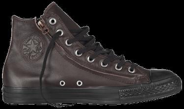 7e9f26f563 Chuck Taylor All Star Hi Top Double Zip Leather Mole - Converse ...