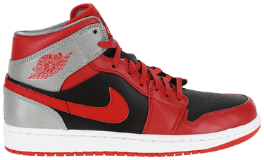 f7f91bc34c4a8a Air Jordan 1 Mid  Fire Red  - Air Jordan - 554724 603