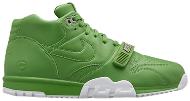 on sale 97e30 2af11 Fragment Design x Air Trainer 1 Mid SP  Chlorophyll