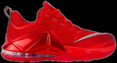 bd20d07ff9 LeBron 12 Low 'University Red' - Nike - 724557 616   GOAT