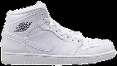 sale retailer 04801 a3b75 Air Jordan 1 Mid  White Cool Grey