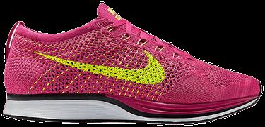 6df0a0813e8c Flyknit Racer  Fireberry  - Nike - 526628 607