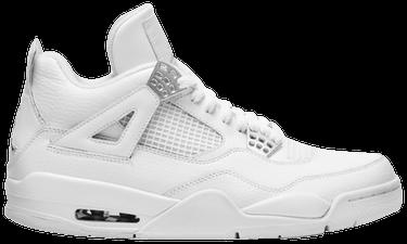 hot sale online ad31a 04160 Air Jordan 4 Retro  25th Silver Anniversary