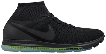 dafb92e11d2c2 Zoom All Out Flyknit 'Black Volt' - Nike - 844134 001 | GOAT