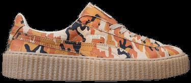 buy online 26344 a7457 Fenty x Suede Creepers 'Orange Camo'