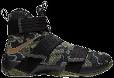 on sale 554d2 cbd42 Zoom LeBron Soldier 10 'Camo'