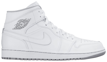 reputable site 88b86 a08ff Air Jordan 1 Retro Mid GS 'White Wolf Grey'