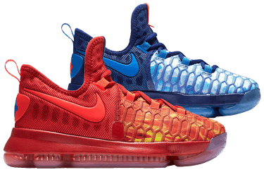 newest 47ca7 778bf Zoom KD 9 GS  Fire and Ice . Nike