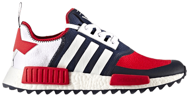 buy online 3e217 44cdf White Mountaineering x NMD Trail 'Red Navy'