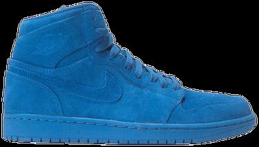 12a99f1f0fa Air Jordan 1 Retro High 'Blue Suede' - Air Jordan - 332550 404 | GOAT