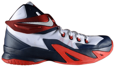 buy online 56302 8d47e Zoom LeBron Soldier 8 'USA' - Nike - 653641 114 | GOAT