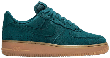 online store 837f6 b5c50 Wmns Air Force 1 Low Suede 'Teal Gum'