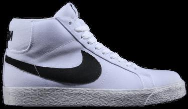 low priced 032e5 7b60c SB Zoom Blazer Mid Canvas 'White Black Gum' - Nike - 902662 ...