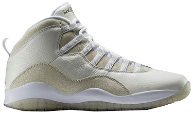 new concept 8b612 712c4 OVO x Air Jordan 10 Retro 'White' Sample