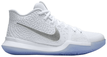 8d67bb2d0b83 Kyrie 3  White Chrome  - Nike - 852395 103