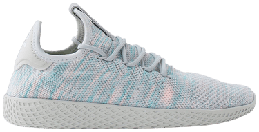 6ec38586c Pharrell x Tennis Hu  Blue Pink  - adidas - BY2671