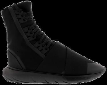 89cf53fabe96c Y-3 Qasa Boot  Triple Black  - adidas - BY2629