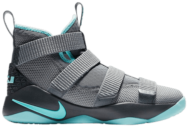 the best attitude 403bb 1be2c LeBron Soldier 11 GS  Cool Grey . Nike