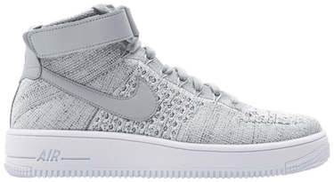 half off 30464 c39d4 Air Force 1 Ultra Flyknit Mid 'Wolf Grey'