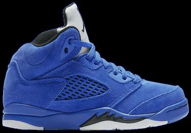 quality design 52c70 4941c Air Jordan 5 Retro PS 'Blue Suede'