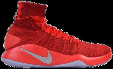7c30d7890524 Hyperdunk 2016 Flyknit  Team Red  - Nike - 843390 606