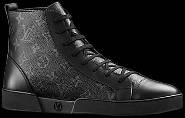 35e23b6a12db Louis Vuitton Match-Up Sneaker Boot  Black  - Louis Vuitton - 1A2R69 ...