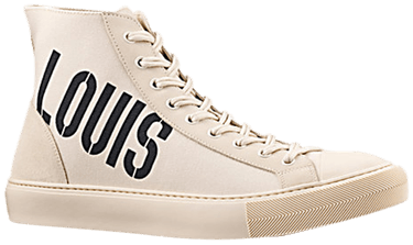 db1aa8f3d929 Louis Vuitton Tattoo Sneaker Boot  Cream Louis  - Louis Vuitton ...