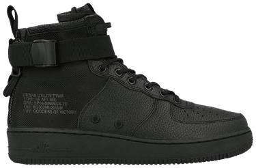 best sneakers 8294d 5e25d SF Air Force 1 Mid 'Triple Black'