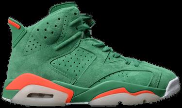 47f4b03f65fe65 Air Jordan 6 Retro NRG  Green Suede Gatorade  Sample - Air Jordan ...