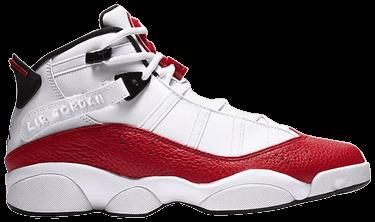 half off 472a0 bf8d4 Jordan 6 Rings 'White University Red'