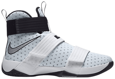 the latest 2b250 f73b7 LeBron Soldier 10 TB 'White' - Nike - 844380 100 | GOAT