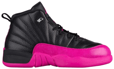 new style 413d1 858e6 Air Jordan 12 Retro PS 'Black Deadly Pink'