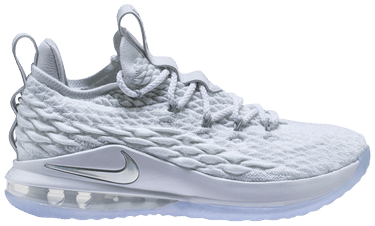 huge discount 4f353 90931 LeBron 15 Low 'White Metallic'