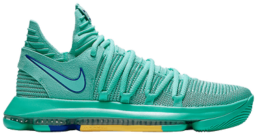 1b61cd6702c9 KD 10 EP  City Edition 2 . The Nike KD 10 gets dipped in Hyper Turquoise ...