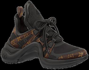 c02e8c38f159 Wmns Louis Vuitton Archlight Sneaker  Black Brown  - Louis Vuitton ...