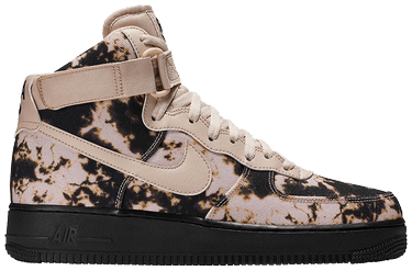 new products a5025 d30fa Air Force 1 High  Acid Wash Print